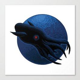 Vampire Squid Canvas Print