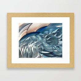 Holler Framed Art Print