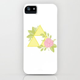 Garden of Power, Wisdom and Courage iPhone Case