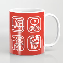 Mayan Glyphs ~ ABSTRACT Coffee Mug