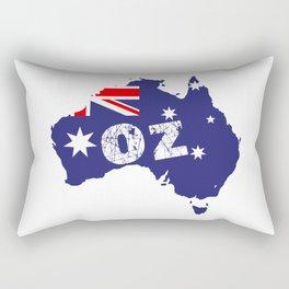 Outline Map OZ Rectangular Pillow