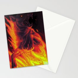 the devil says Stationery Cards