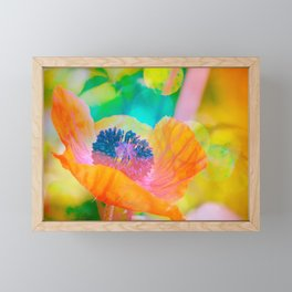 The colorful Beauty Framed Mini Art Print