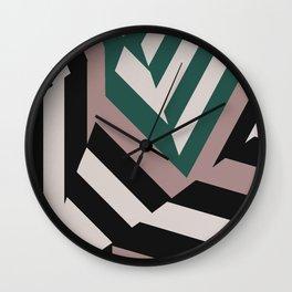 ASDIC/SONAR Dazzle Camouflage Graphic Design Wall Clock
