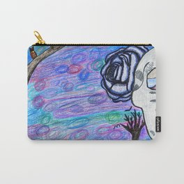 Little Girly, Little Goth Carry-All Pouch