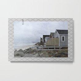 New Hampshire Beach Metal Print