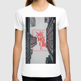 New York urban landscape photo T-shirt