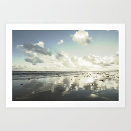 Low Tide Art Print