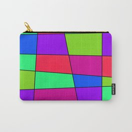 Colorful Window Four Carry-All Pouch