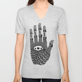 Hand Eye Coordination Unisex V-Neck