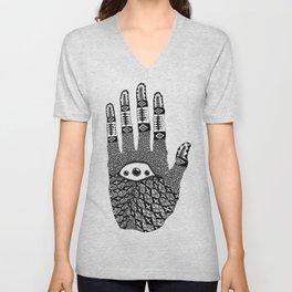 Hand Eye Coordination Unisex V-Neck