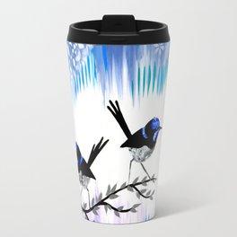 Purple designs Travel Mug