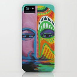 Face as Canvas iPhone Case