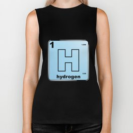 Hydrogen From The Periodic Table Biker Tank