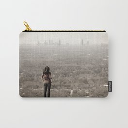 Women looking to downtown Atlanta, USA Carry-All Pouch