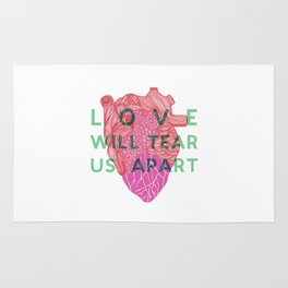 Love will tear us apart Rug