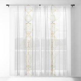 Lamp1 Sheer Curtain
