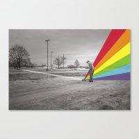 floyd Canvas Prints featuring Mr. Floyd by Blaz Rojs