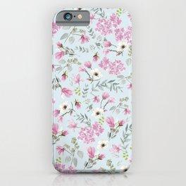 Romantic Pink patern iPhone Case