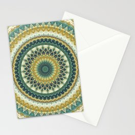 Happy Garden Mandala Stationery Cards