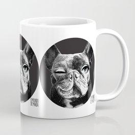FRENCH BULLDOG FORNASETTI BLINK Coffee Mug