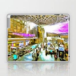 Kings Cross Station London Pop Art Laptop & iPad Skin