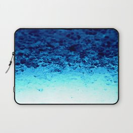 Blue Crystal Ombre Laptop Sleeve