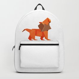 Origami Lion Backpack