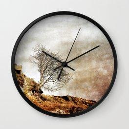 Catch Me When I Fall Wall Clock