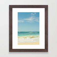 Beach Love Maui Style Hawaii Framed Art Print
