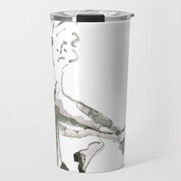 remembering Maria Lassnig Travel Mug