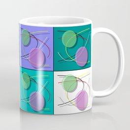 Abstract 50's style - 001 Coffee Mug