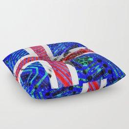 circuit board Flag (iceland) Floor Pillow
