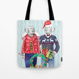UGLY CHRISTMAS SWEATER WEIMS Tote Bag