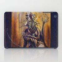 virgo iPad Cases featuring VIRGO  by SOMNIVAGRIOUS