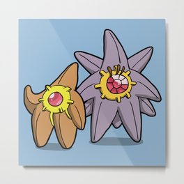Pokémon - Number 120 & 121 Metal Print