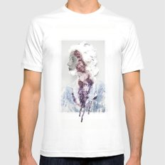 Bundenko collage MEDIUM White Mens Fitted Tee
