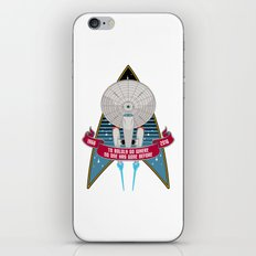 Boldly Go - 50th Anniversary iPhone & iPod Skin