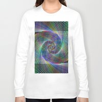 fractal Long Sleeve T-shirts featuring Fractal by David Zydd