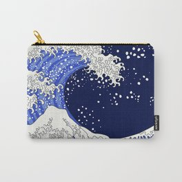 Great Blue Wave Carry-All Pouch