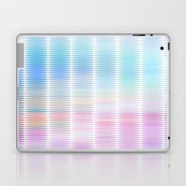Soft Pastel Oval Geometric Abstract Laptop & iPad Skin