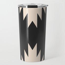 Minimal Southwestern - Charcoal Travel Mug
