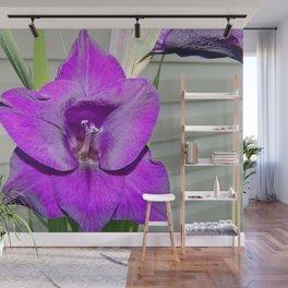 Purple Gladiola Wall Mural