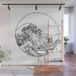The Great Minimal Wave Wall Mural
