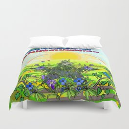 Amazing Life Song Duvet Cover
