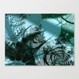 Fruitful Abstract Fractal Art Canvas Print