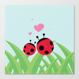 Love Bugs Canvas Print