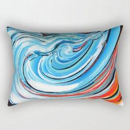Aujourd'hui je surf Rectangular Pillow