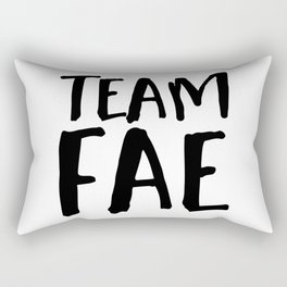 Team Fae Rectangular Pillow