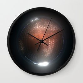 Albedo: Africa and Europe by Night Wall Clock